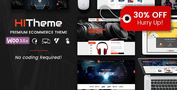 HiTheme - Responsive WooCommerce WordPress Theme            TFx