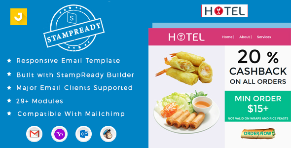 Hotel - Email Marketing Template            TFx