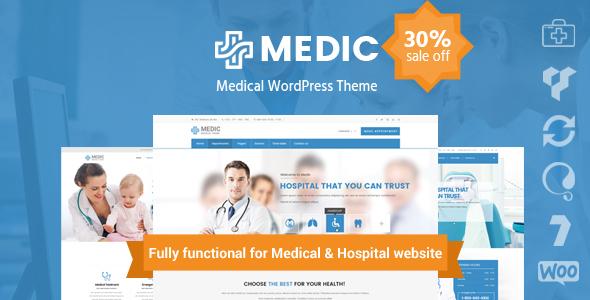InMedical | Medical Clinic Hospital WordPress Theme            TFx