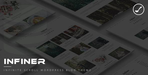 Infiner - Infinite Scroll WordPress Blog Theme            TFx