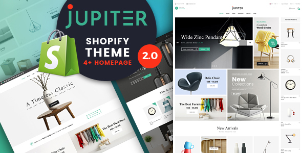 Jupiter – Clean And Clear Shopify Theme            TFx Hiram Takehiko