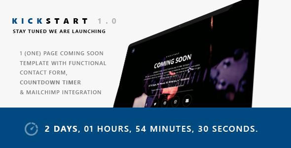 Kickstart            TFx SiteTemplates