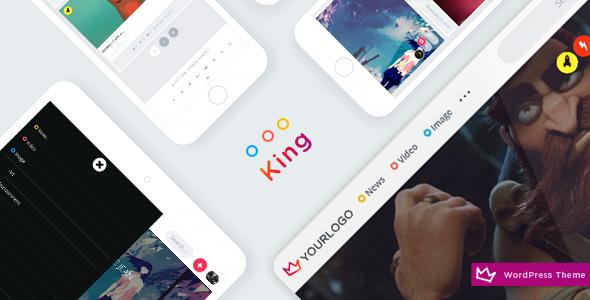 King - WordPress Theme            TFx