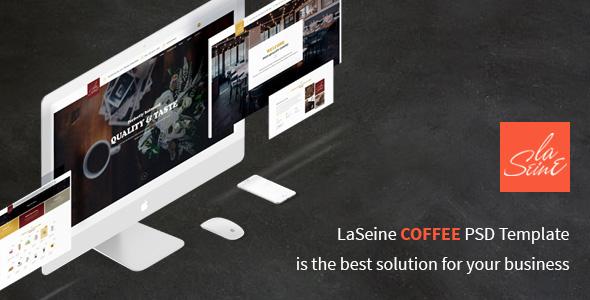 Laseine - Cafe & Restaurant WordPress Theme            TFx