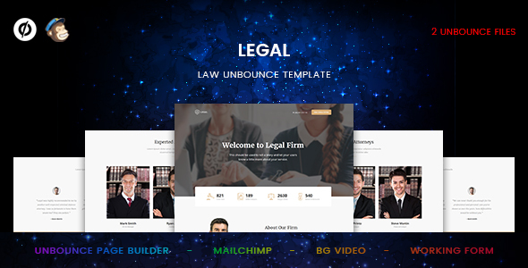 Legal – Law Unbounce Template            TFx Wayan Don