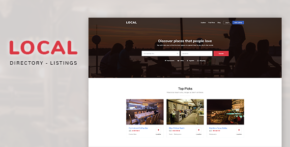 Local | Directory Listings Template            TFx