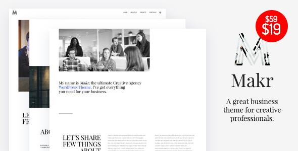 Makr - Multi Purpose Business WordPress Theme            TFx
