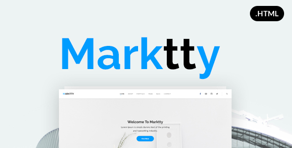 Marktty Creative Agency HTML Template            TFx King Stacey
