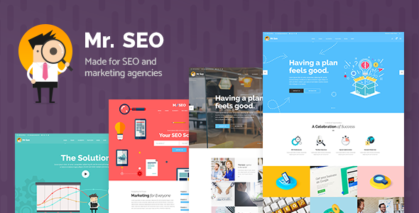 Mr. SEO - A Friendly SEO, Marketing Agency, and Social Media Theme            TFx