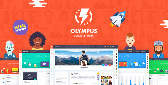 Olympus - HTML Social Network Toolkit            TFx Danny Mitchell