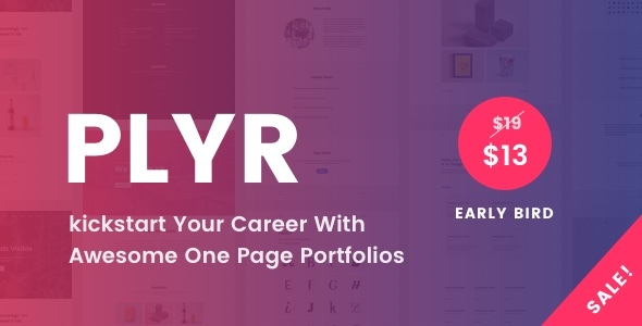 PLYR – One Page Portfolios For Everyone            TFx Wilt Van
