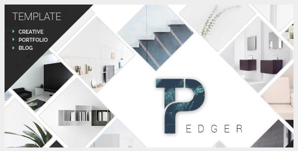 Pedger - Multipurpose Portfolio/Blog PRO Template            TFx