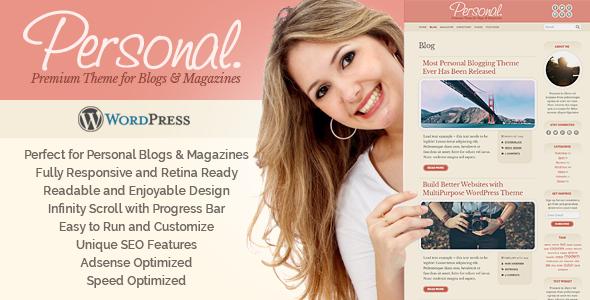 Personal WordPress Theme            TFx