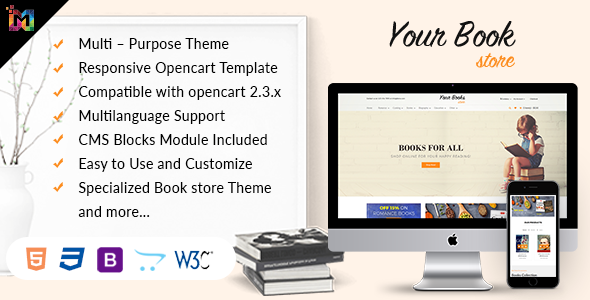 Responsive OpenCart Theme Store            TFx