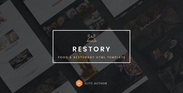 Restory - Restaurant & Cafe HTML5 Template            TFx