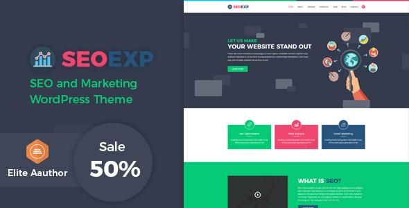 Seoexp - Marketing & SEO WordPress Theme            TFx