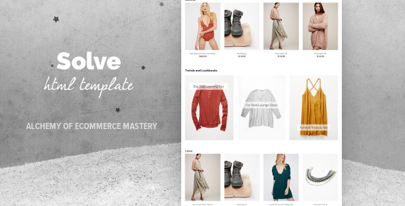 Solve - Multipurpose eCommerce Template            TFx