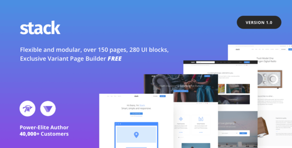 Stack - Multi-Purpose WordPress Theme with Variant Page Builder            TFx