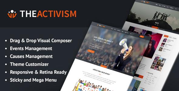The Activism : Political Activism WordPress Theme            TFx