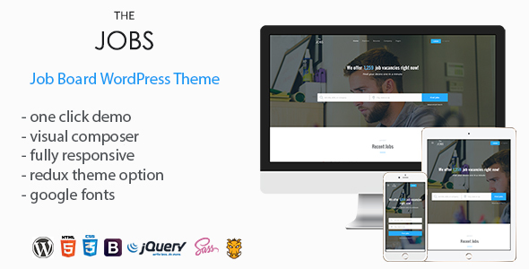 TheJobs - Job Board WordPress Theme            TFx