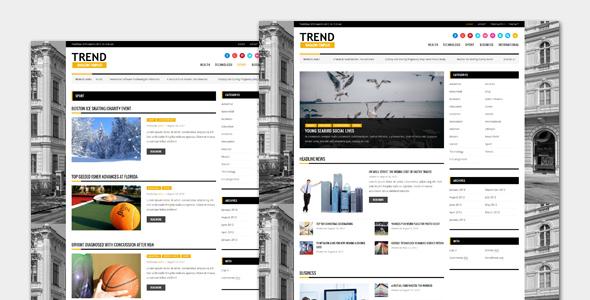 Trend - Magazine WordPress Theme            TFx