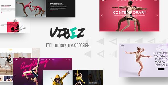 Vibez - A Dynamic Multi-concept Theme for Dance Studios and Instructors            TFx