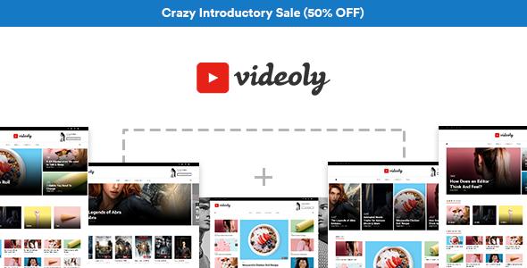 Videoly - Video WordPress Theme            TFx Woodrow Emmerson