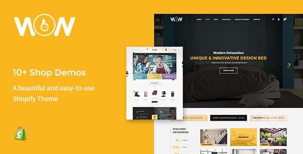 Wow - Multi-store Responsive Shopify Theme            TFx