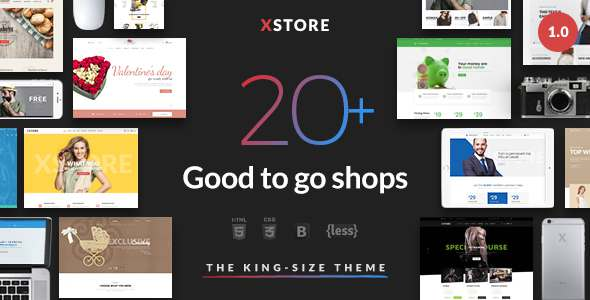 XStore - Responsive eCommerce HTML Template            TFx