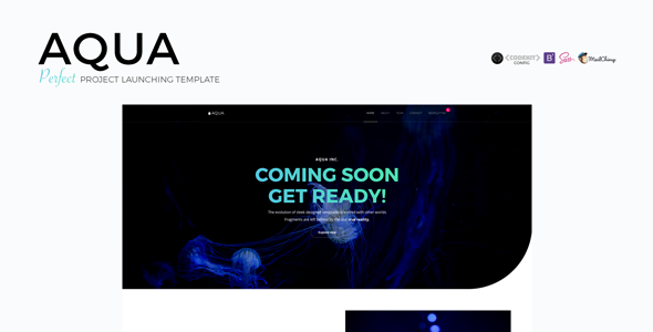 AQUA - Perfect Project Launching Template TFx Archibald Wilf