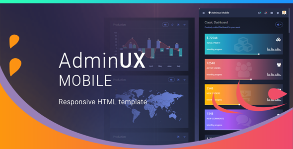 AdminUX Mobile | Responsive HTML Template            TFx Sri Darwin
