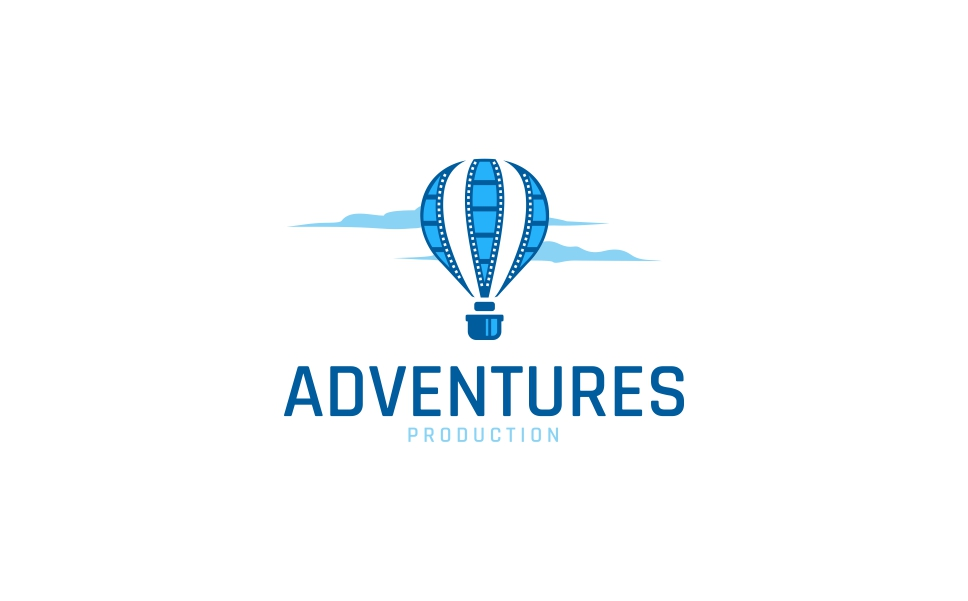Adventure Media Production Logo Template TMT Darnell Daisuke
