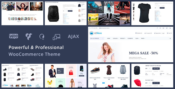 AllStore - Universal WooCommerce WordPress Shop Theme TFx Suleiman Thorburn