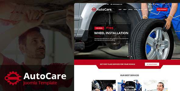 Auto Care - Joomla Template for Car Mechanic, Workshops, Auto Repair Centers            TFx Raymund Kichirou