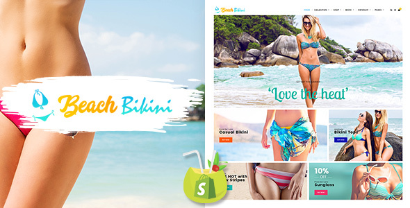 Bikini Beach – A vibrant bikini, lingerie shopify theme            TFx Maurice Hadyn