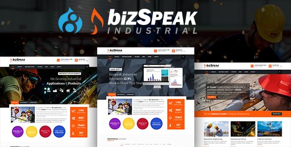 BizSpeak - Responsive Industrial Drupal 8 Theme            TFx Levi Mega