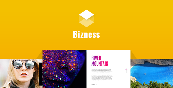 Bizness - Corporate Business PSD Template TFx Geordie Fredric