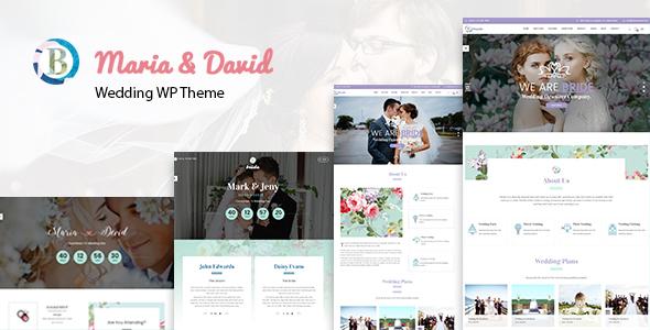 Bride - Wedding WordPress Theme TFx WordPress Gideon Daisuke