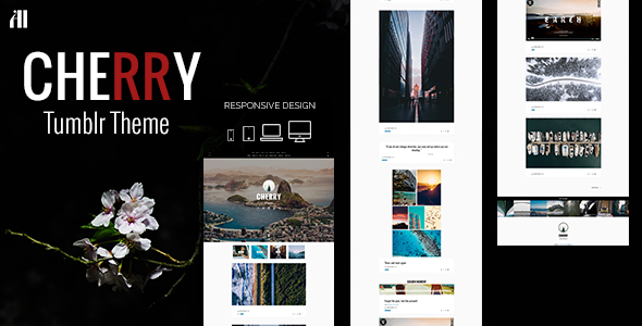 CHERRY - A Tumblr Theme Made for Beautiful Large Posts & Photos            TFx Khazhak Maquinna