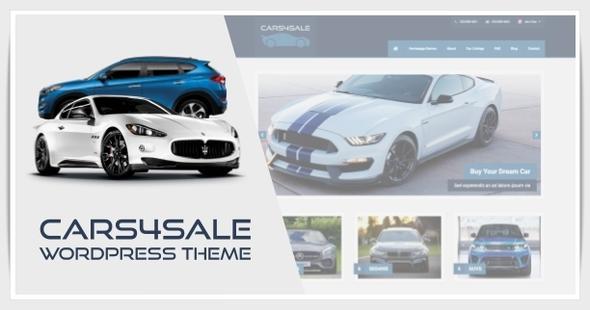 Cars4Sale - Automotive Car Dealership WordPress Theme TFx Levon Charley