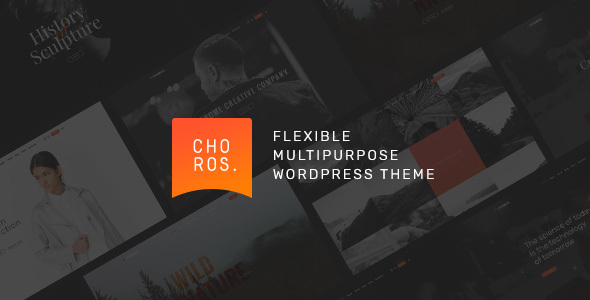 Choros — Responsive Multipurpose WordPress Theme            TFx Gabriel Ace
