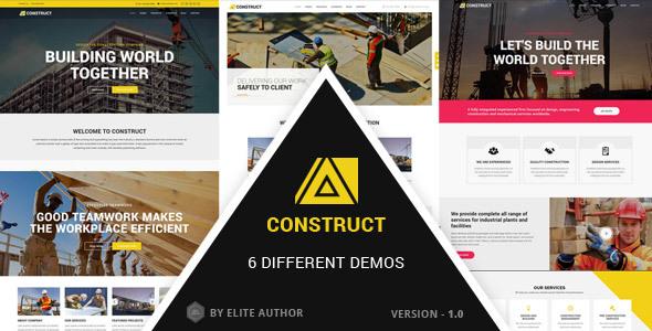 Construct - Construction, Building Company            TFx Spartak Tel