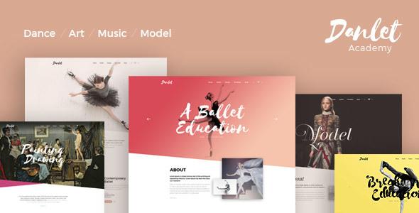 Danlet Academy WordPress Theme            TFx Norwood Dana