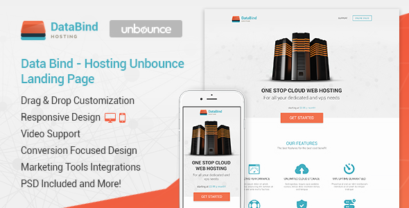 Data Bind - Hosting Unbounce Landing Page            TFx Micheal Randal