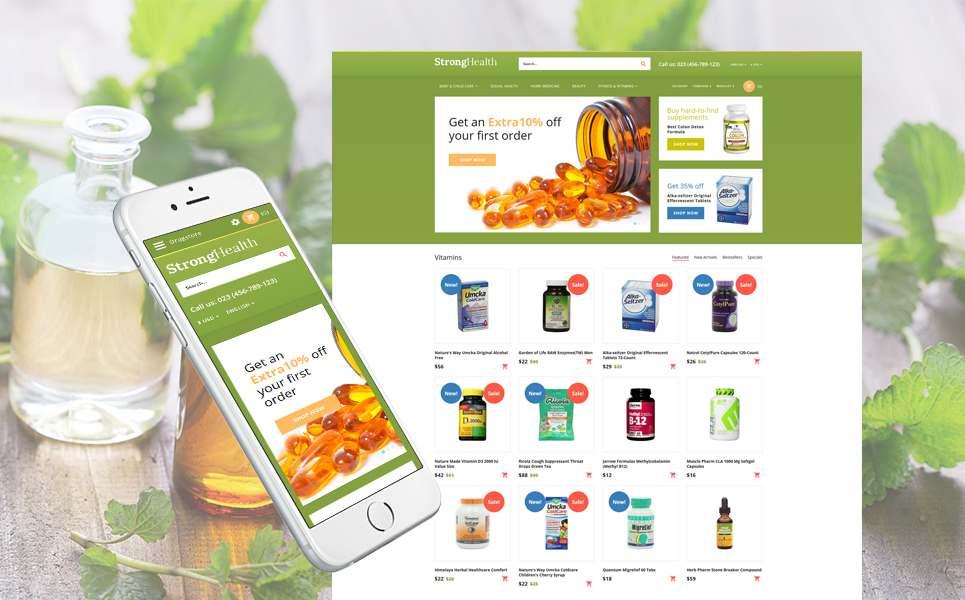Drug Store Responsive OpenCart Template TMT Tenskwatawa Quintin