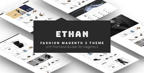 ETHAN - Luxury Fashion Magento 2 Theme            TFx Dyson Normand