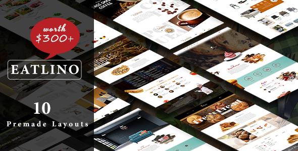 Eatlino - Advanced Multipurpose OpenCart Theme            TFx Cooper Odell