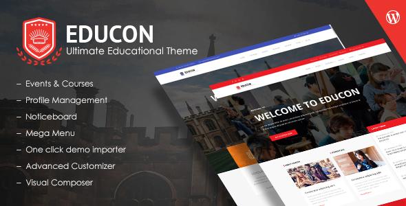 Educon - Education WordPress Theme            TFx Pancras Krikor
