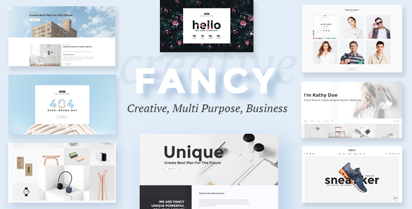 Fancy - Multipurpose Business PSD Template            TFx Clement Scott