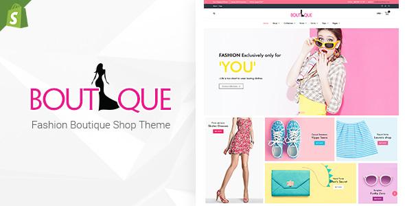 Fashion Boutique - Responsive Shopify Theme TFx Conor Larrie